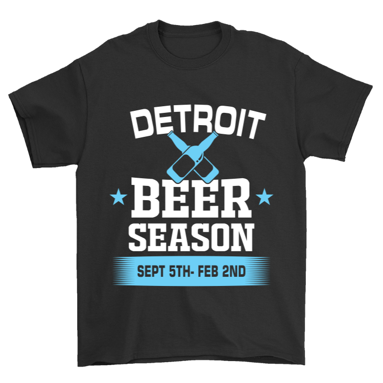 Detroit Beer Season T-Shirt
