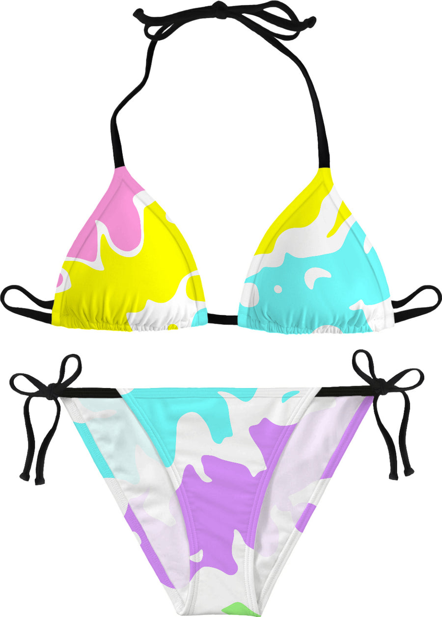 Splashes Of Color Bikini