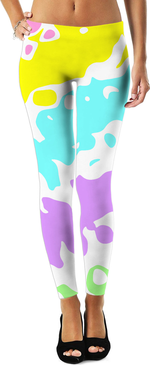 Splashes Of Color Leggings