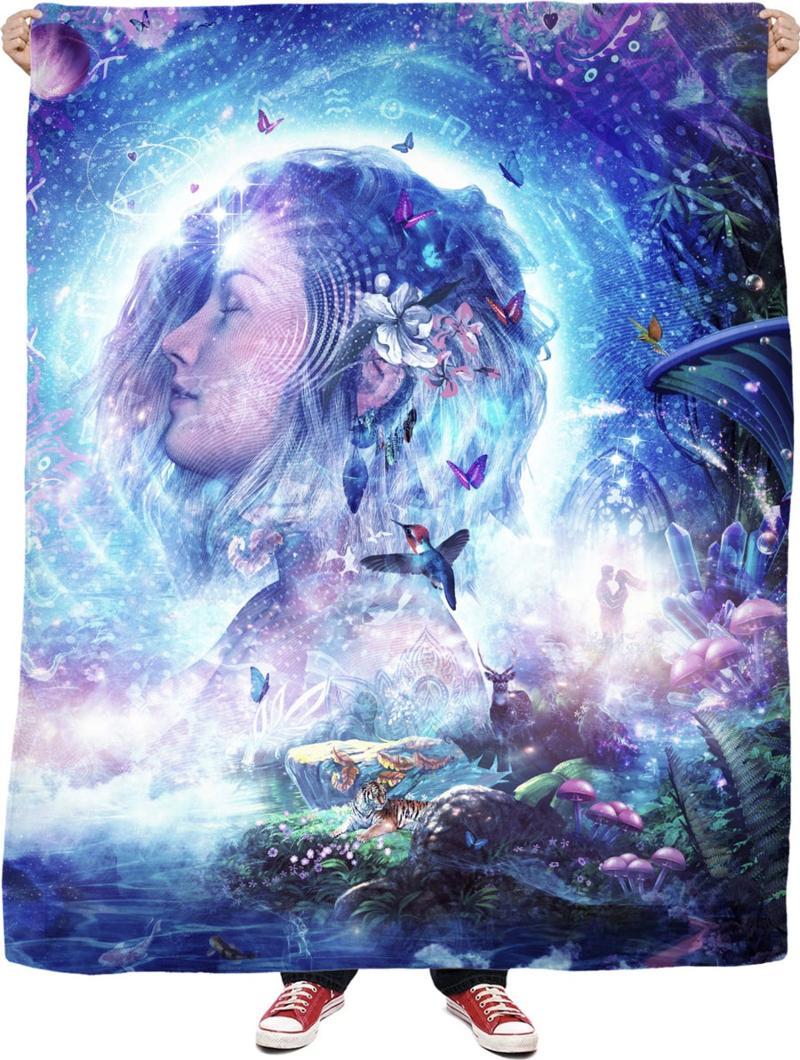 Dancing Dreams - Fleece Blanket