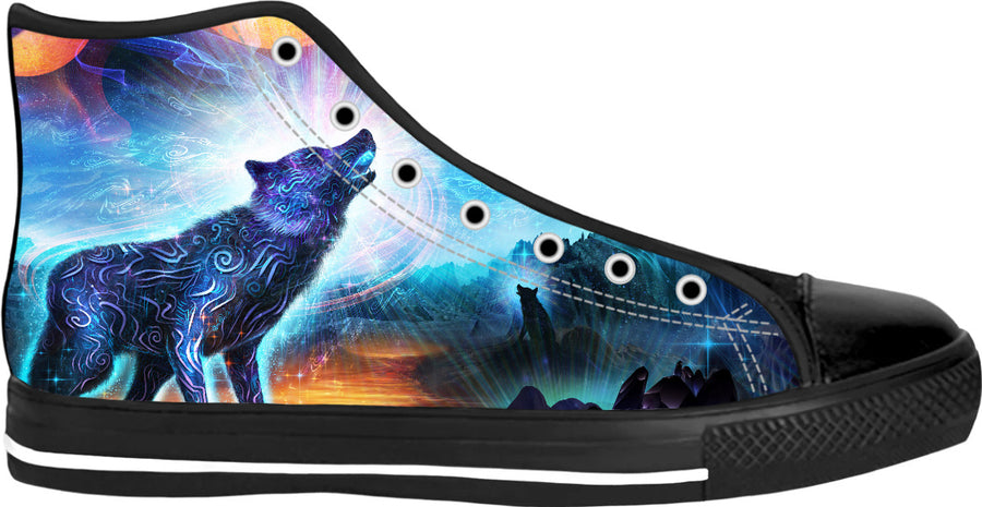 The magic howl high tops