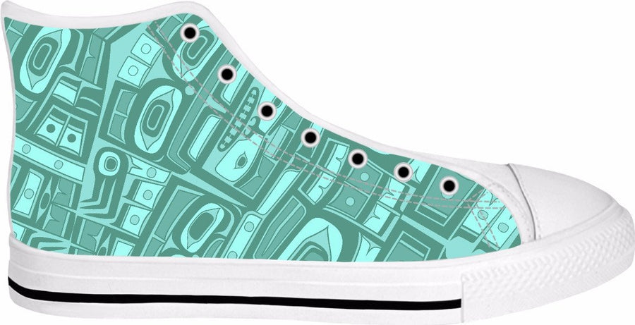 Seafoam Chilkat Hightops