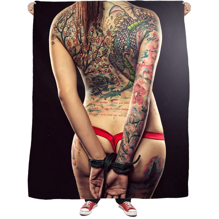 Hands Tied Fleece Blanket