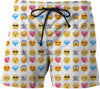 Emoticon Swim Shorts