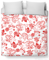 Fine China Duvet Cover
