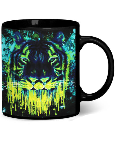 Tiger Drippy Coffee Mug