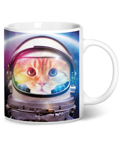 Space Cat Coffee Mug