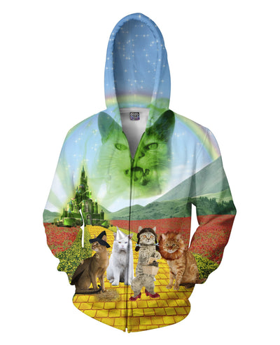 Wizard of Paws Zip-Up Hoodie