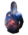 Lush Galaxy Zip-Up Hoodie