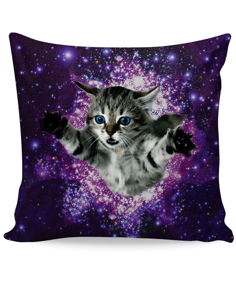 Kitty Glitter Couch Pillow