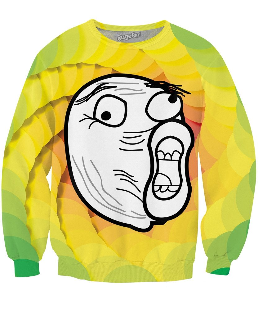 LOL Face Crewneck Sweatshirt