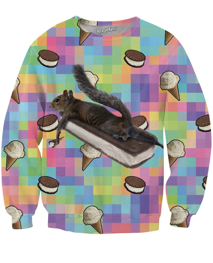 It's All About the Ice Cream Crewneck Sweatshirt