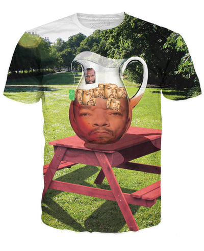 Mr. T Ice-T With Ice Cubes T-Shirt