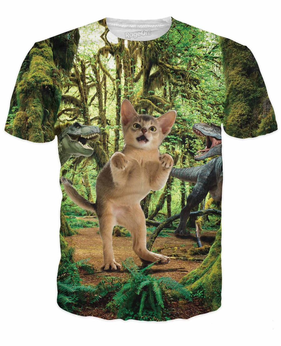 T-Rex Cat T-Shirt