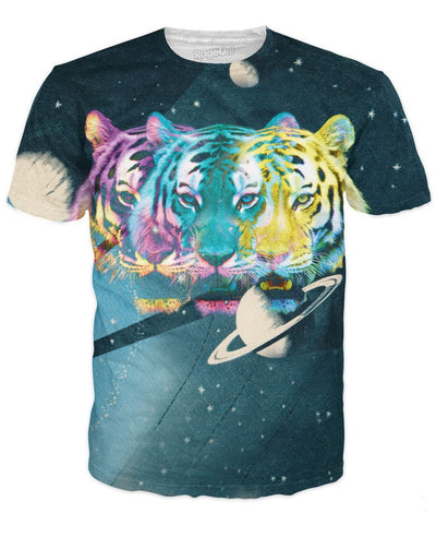 Trippy Triple Tiger T-Shirt