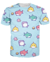 Rainbow Sharks T-Shirt
