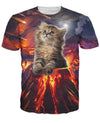 Kitten Eruption T-Shirt