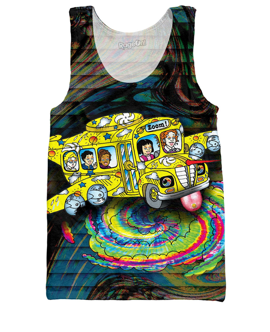 Magic School Bus Acid Trip Tank Top