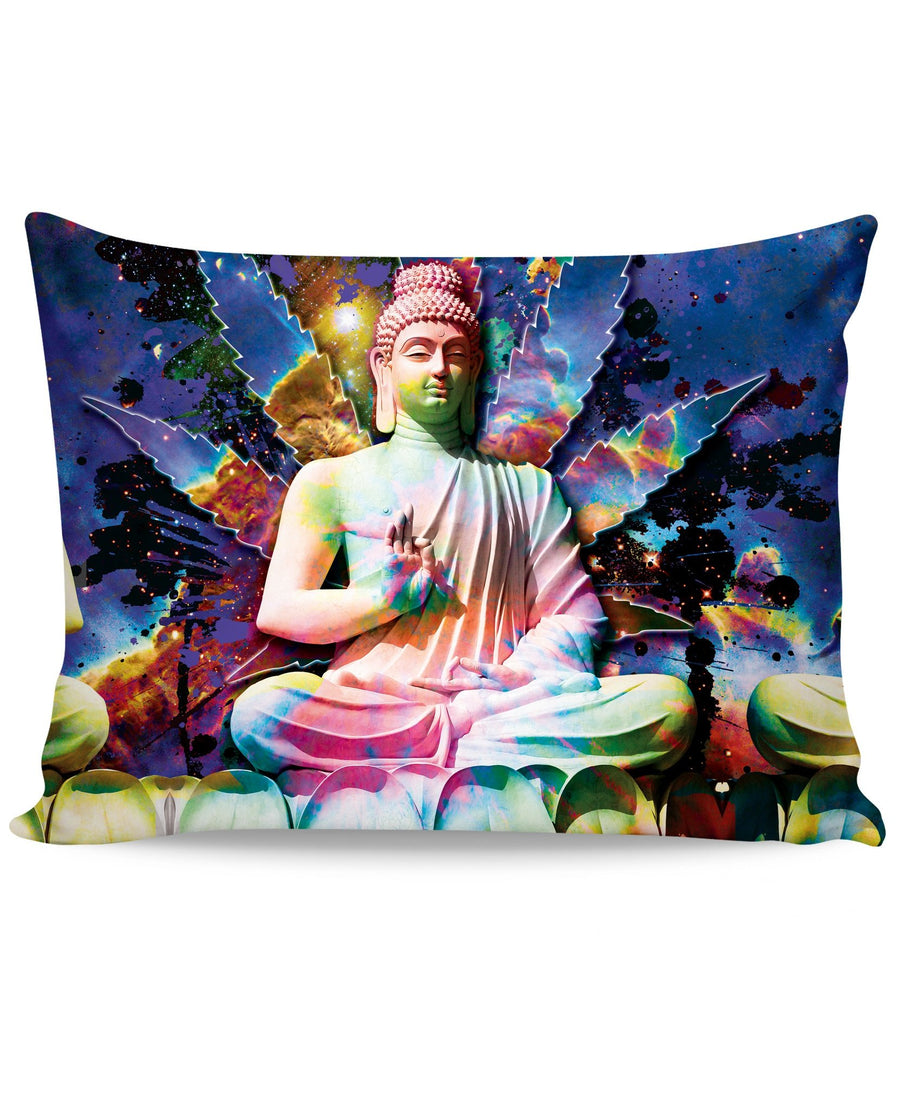 Galactic Buddha Pillow Case