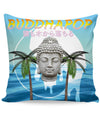 Vaporwave Buddha Couch Pillow