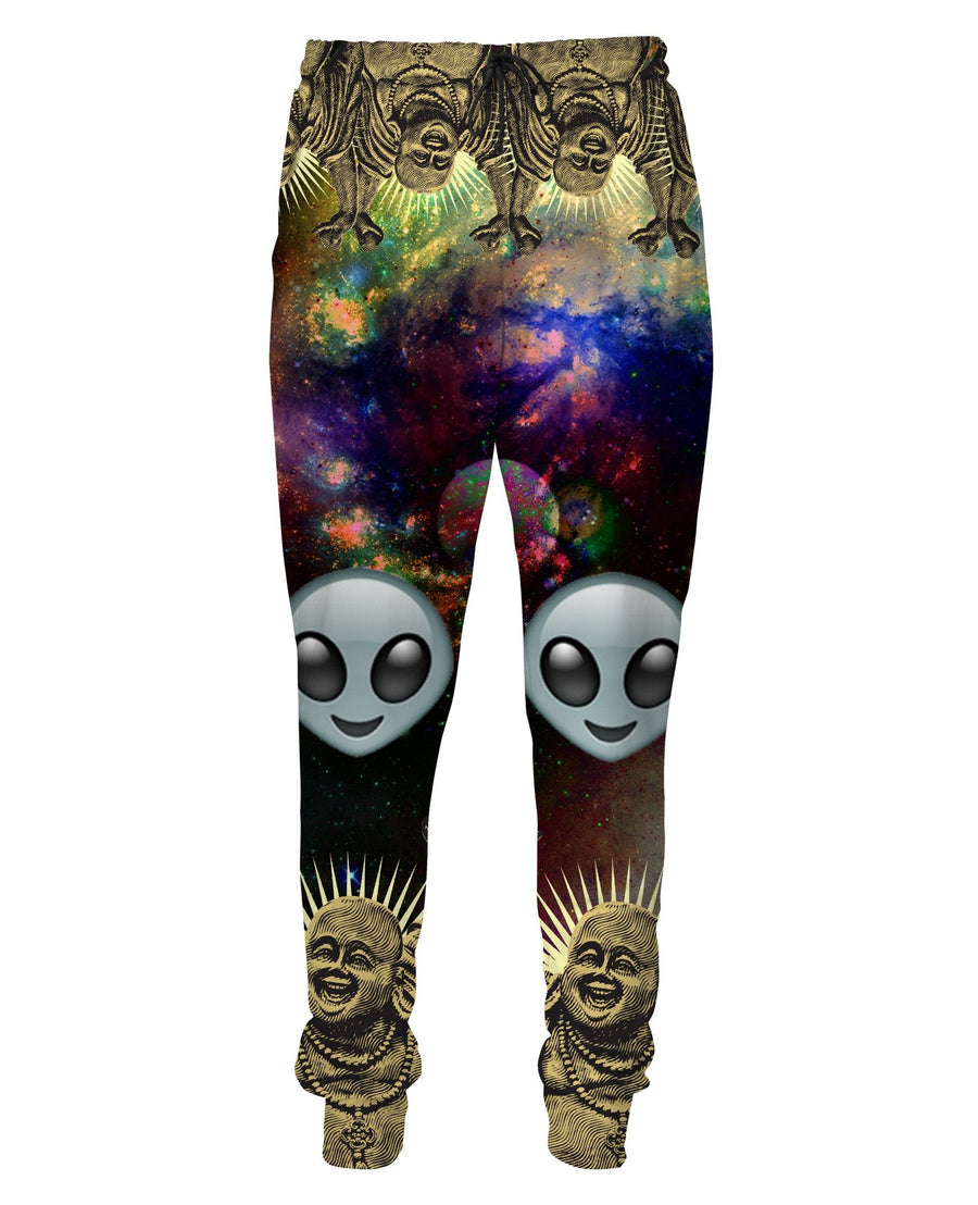 Alien Space Buddha Sweatpants