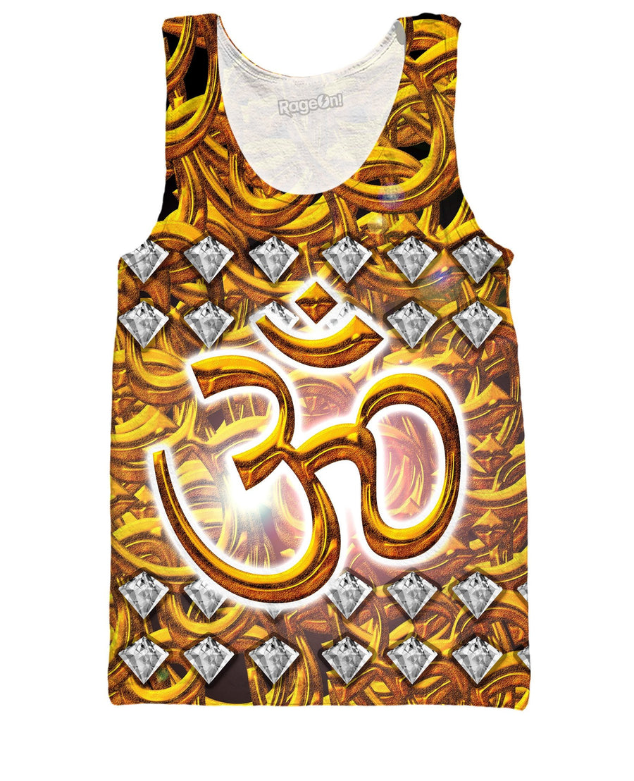 Gold Om Tank Top