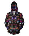 Interstellar Echolocation Zip-Up Hoodie