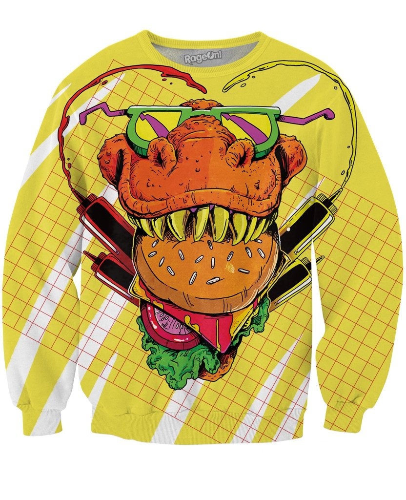 Food Face Crewneck Sweatshirt