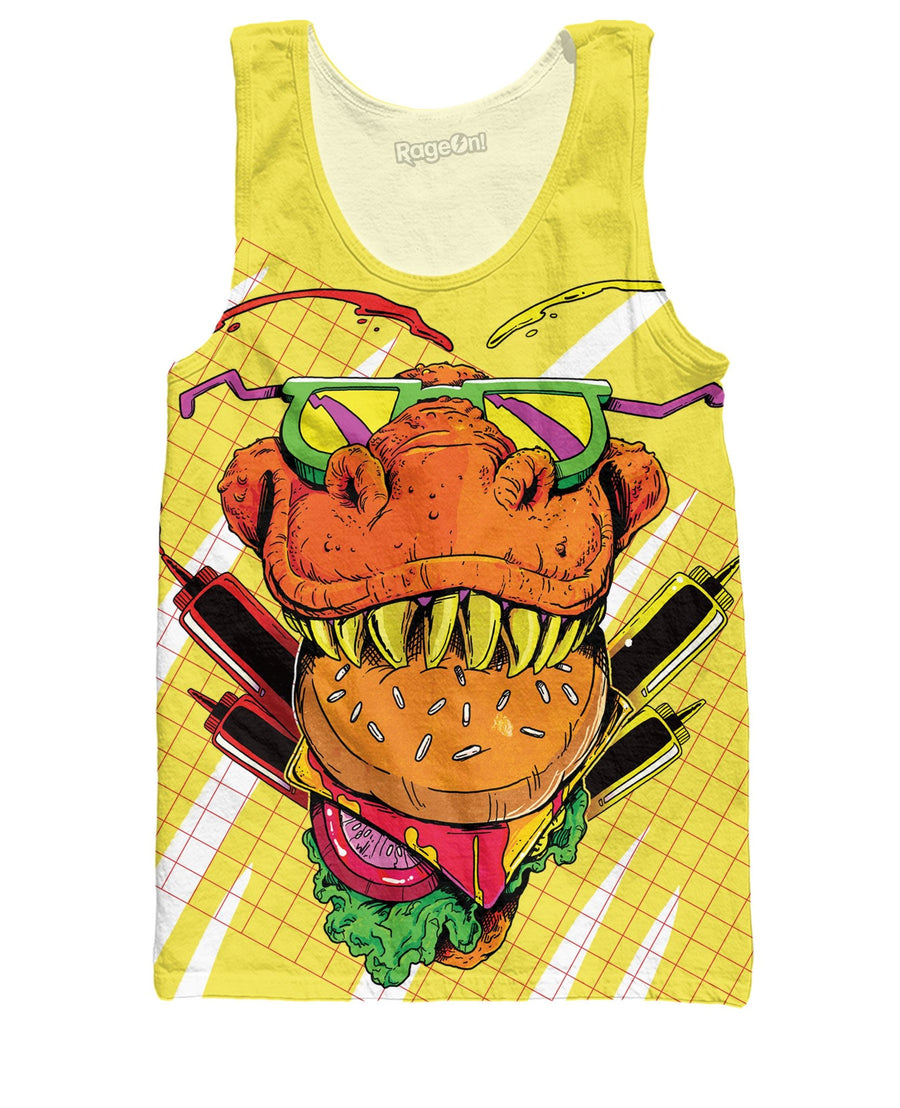 Food Face Tank Top
