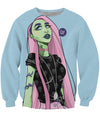 Alien Girl Crewneck Sweatshirt