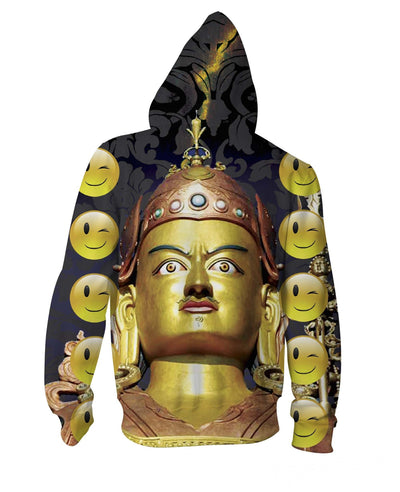 Emperor's Secret Zip-Up Hoodie