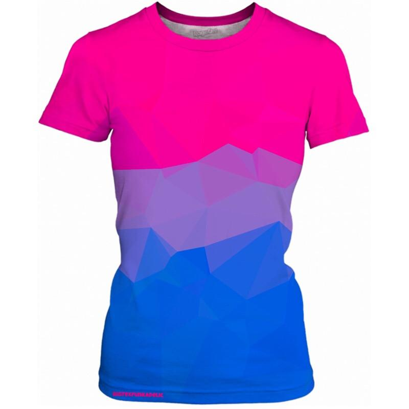 BigTexFunkadelic- Geometric Bisexual Pride Collection