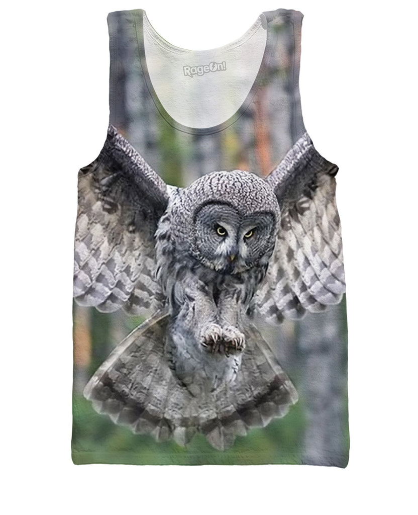 Flying Owl Tank Top