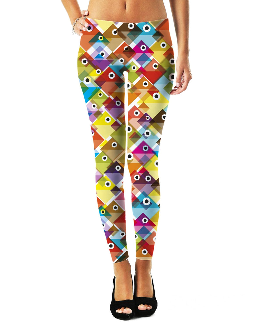 Colorful Fish Leggings