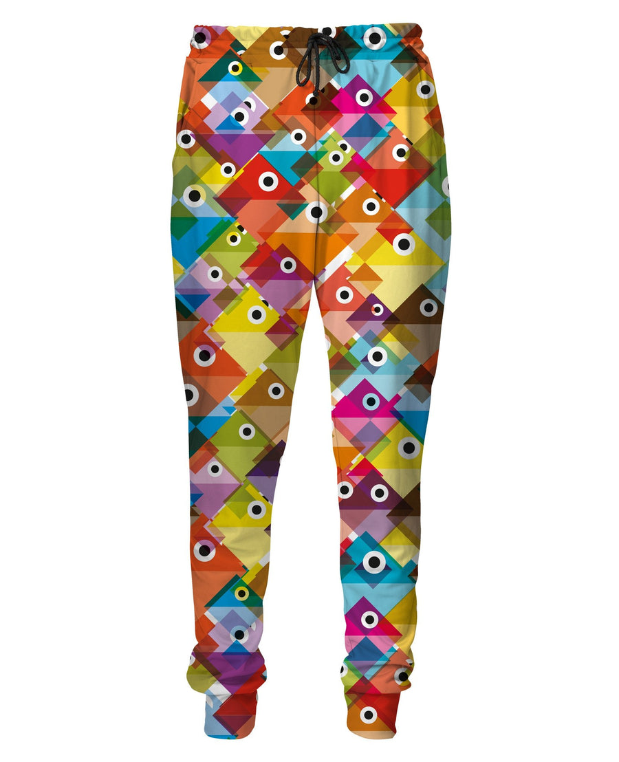 Colorful Fish Sweatpants