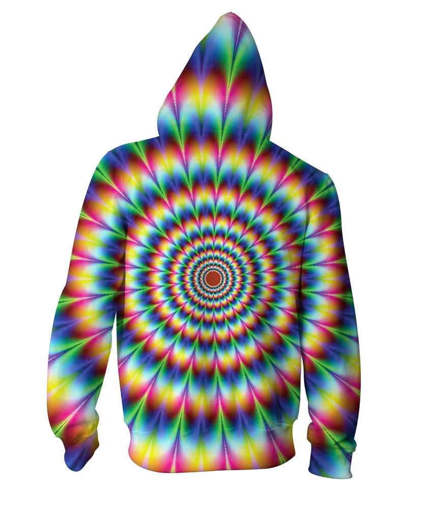 Into the Rainbow Zip-Up Hoodie