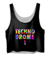 Technodrome1 Crop Top