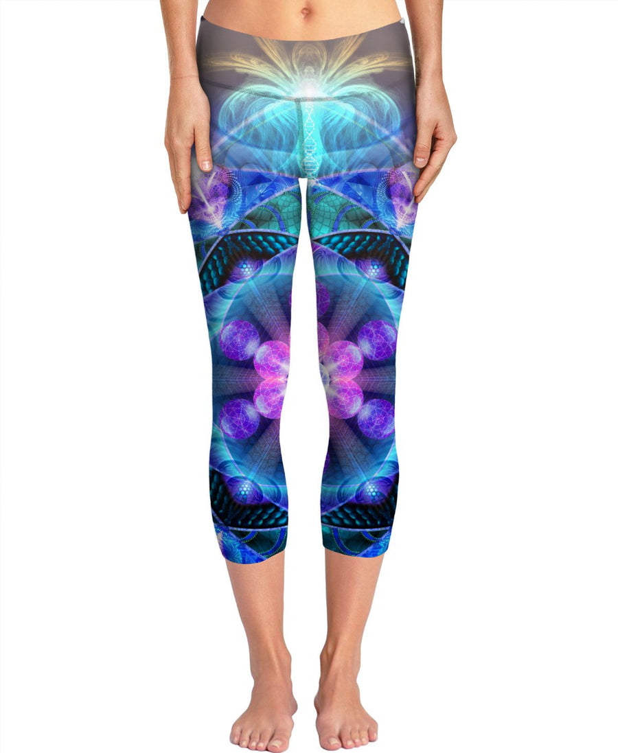 Radiant Energy Flower Yoga Pants