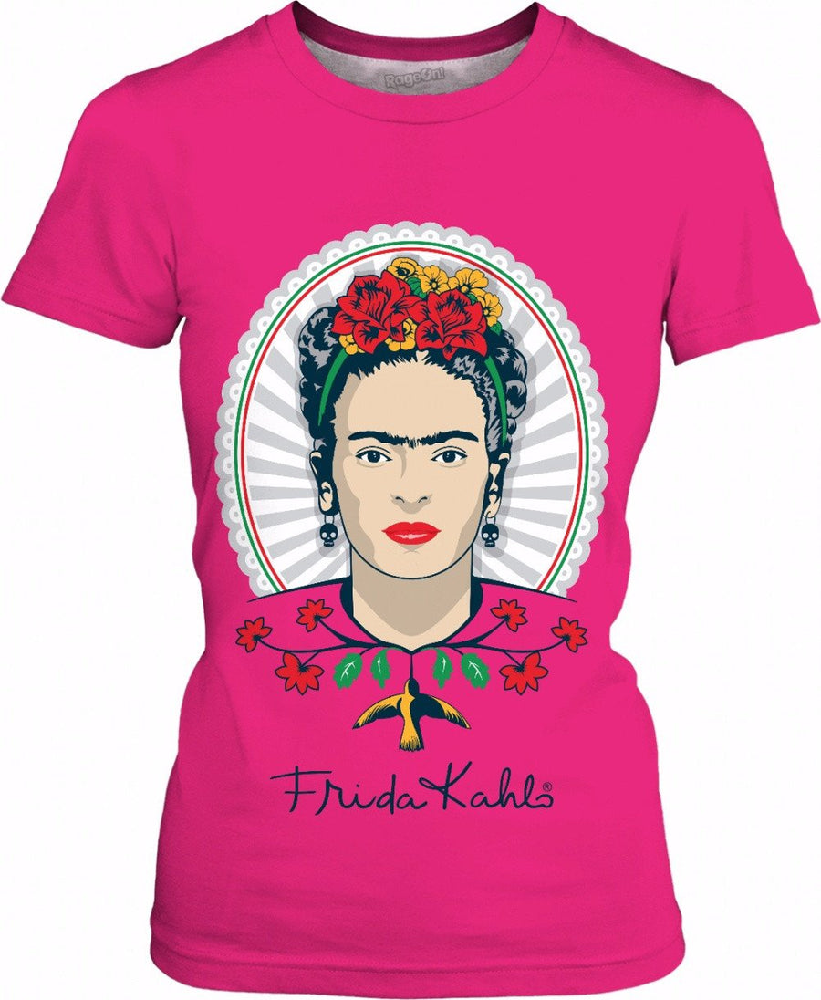 Frida Kahlo Pink Women's T-Shirt