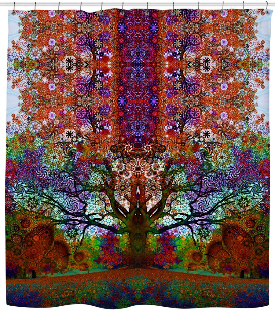 Trip Tree Shower Curtain