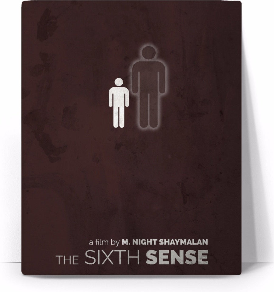 The Sixth Sense Movie Poster Canvas