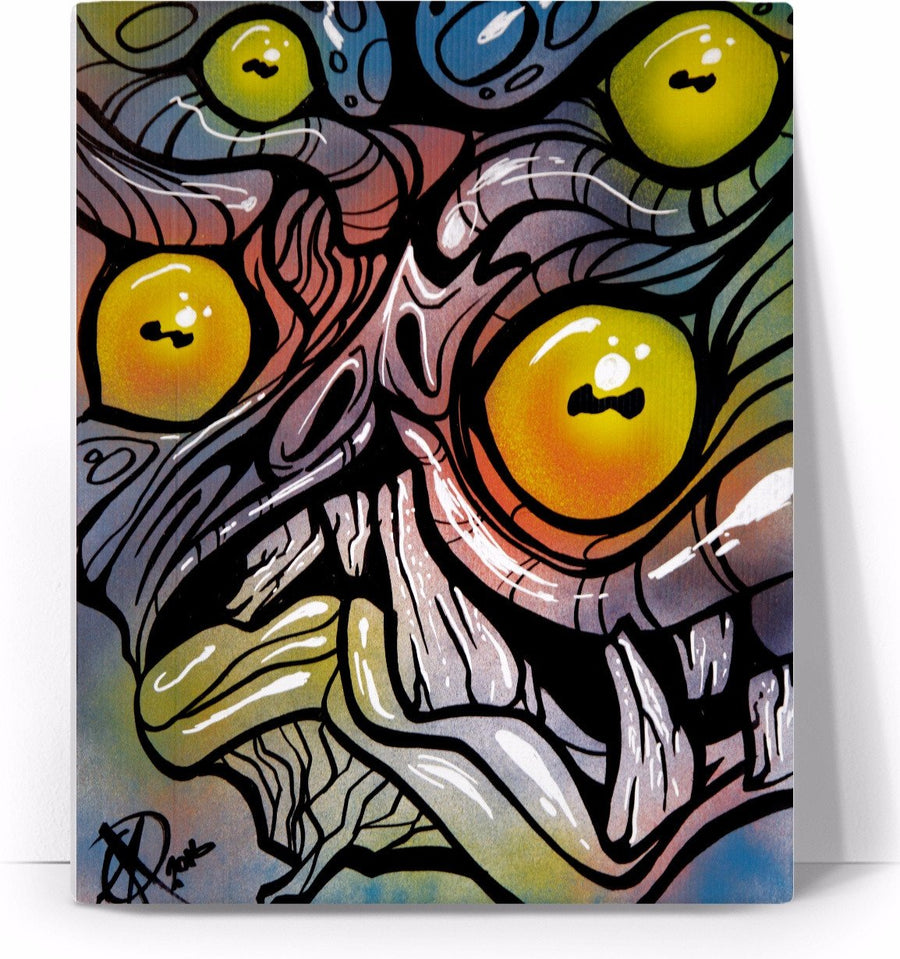 graffiti marsh zombie mutant monster graffiti ghoul #rohalloweencontest #Halloween