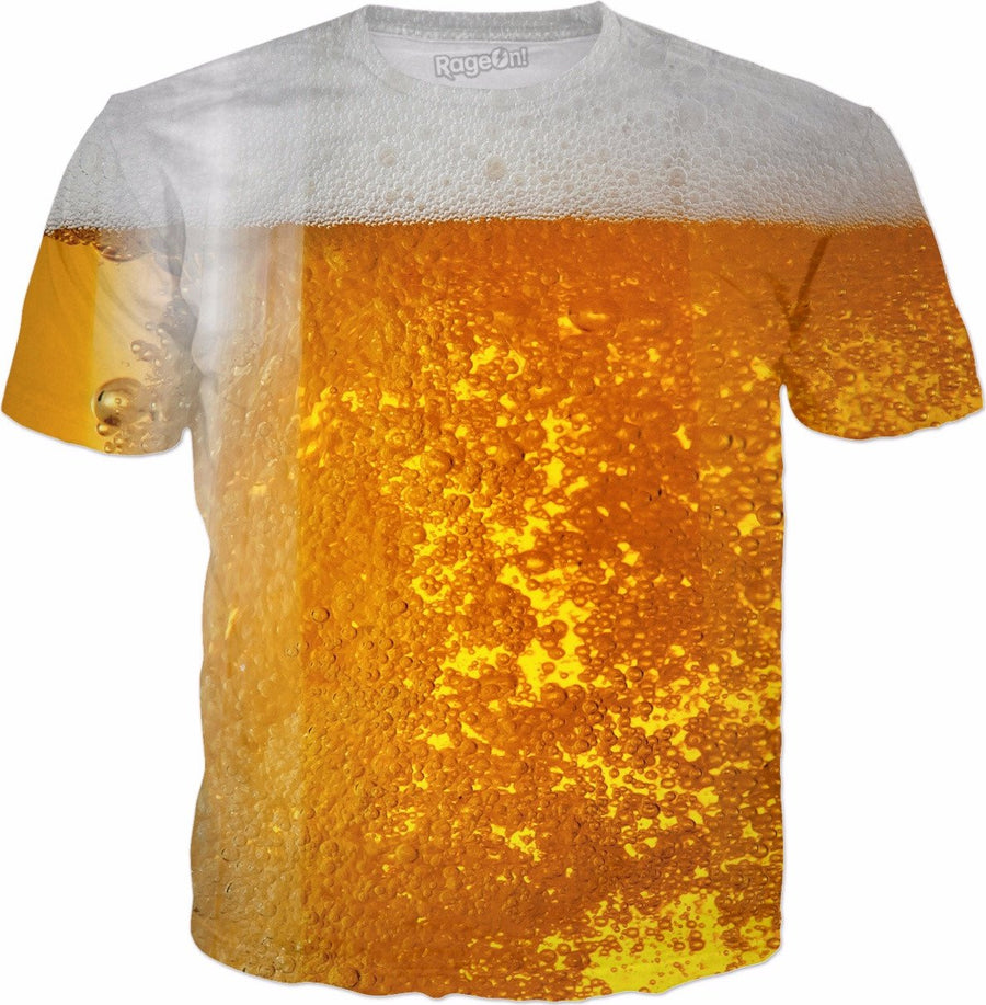 tanked the beer shirt