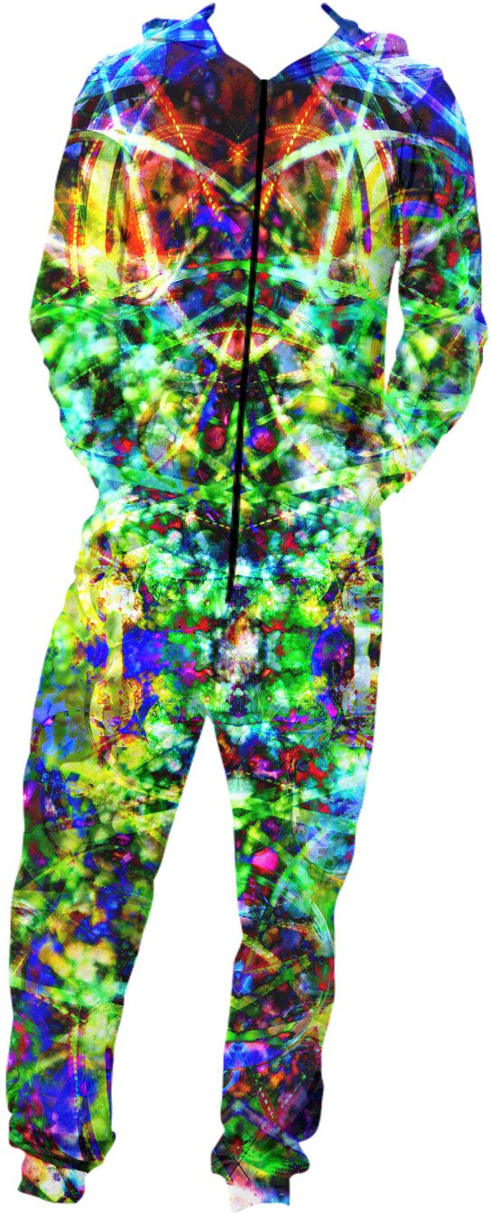 Contemporary Light Portal 12 Onesie