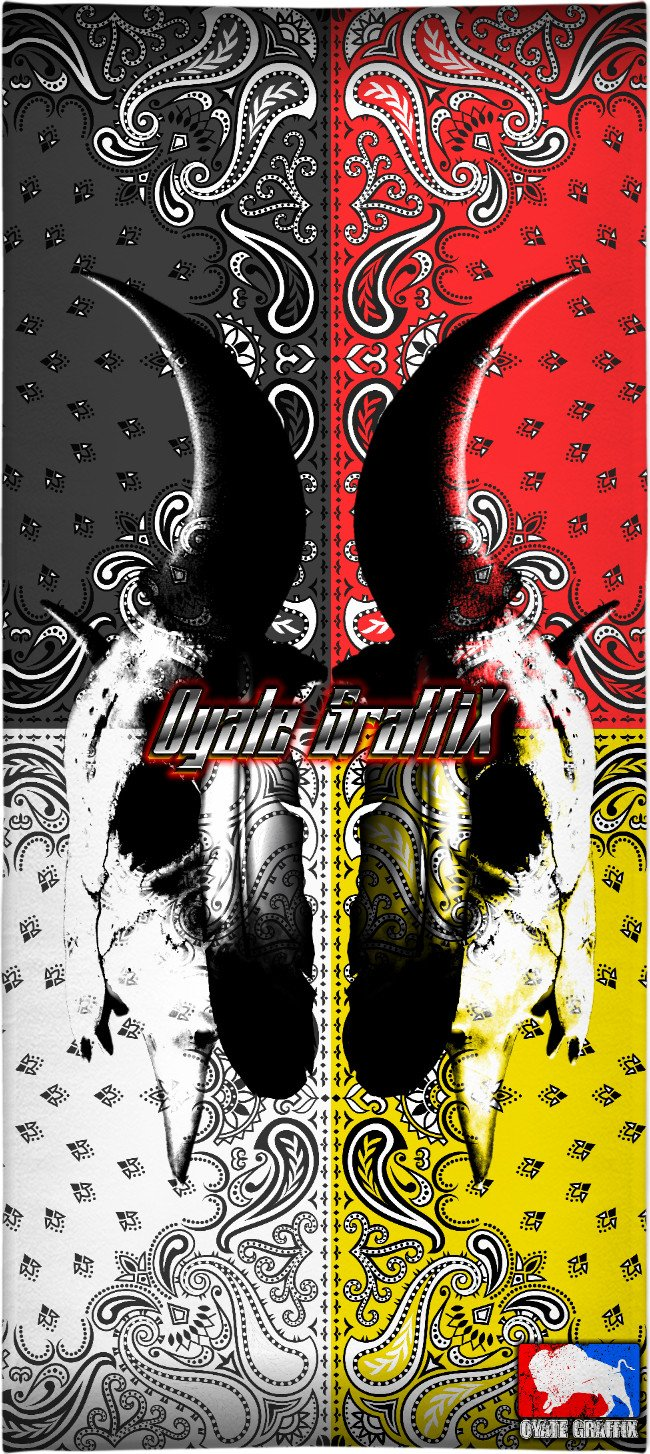 Oyate Graffix Beach Towel 14