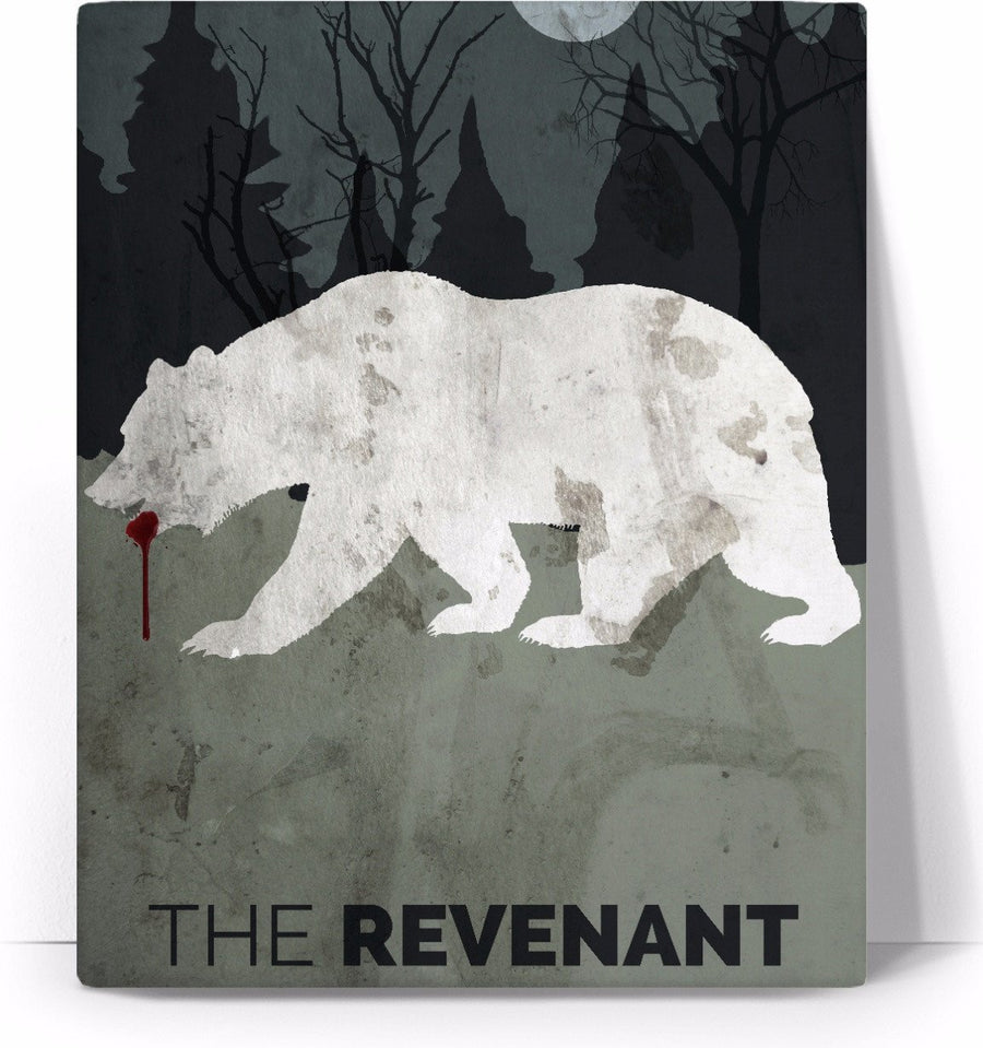 The Revenant Movie Poster Canvas