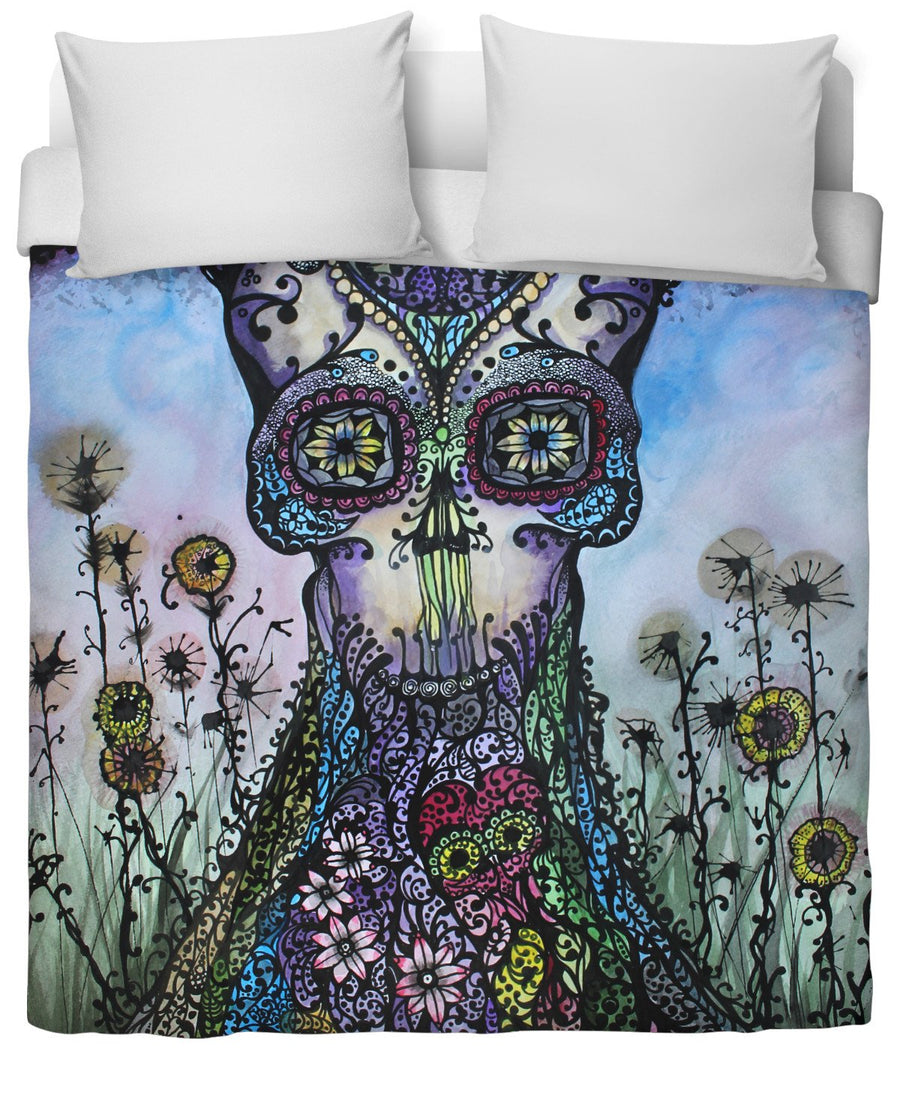 Garden of Good Intent Duvet Cover