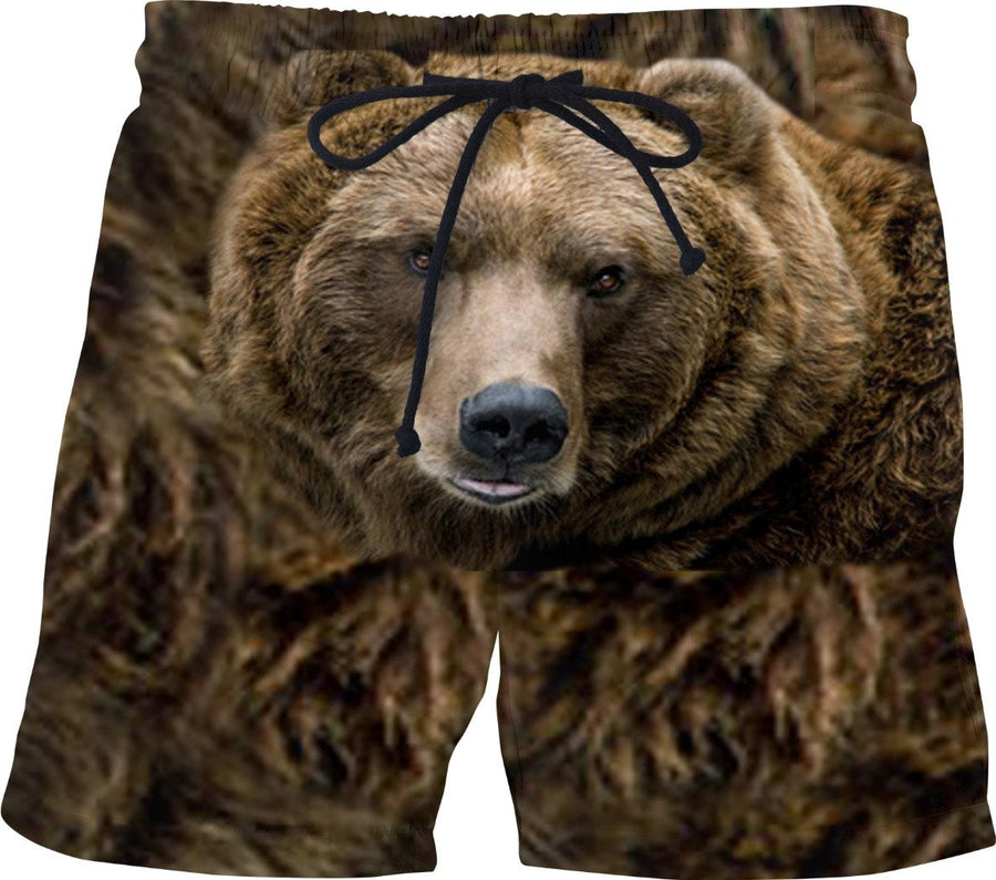 Brown Bear Swim Shorts