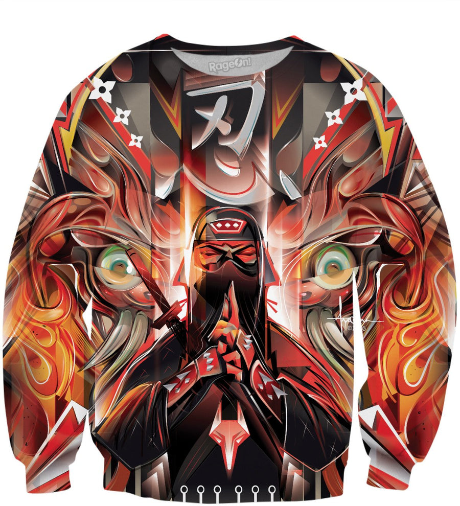 SHINOBI NINJA Sweatshirt by Mexifunk