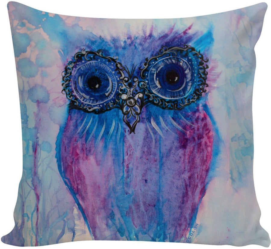 Clyde the Owl Couch Pillow